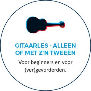 Gitaarles - alleen of met z'n tweeen. Voor beginners en voor (ver)gevorderden.